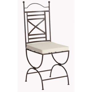 Chaise classique fer forgé 3