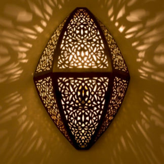 Applique murale marocaine cuivre